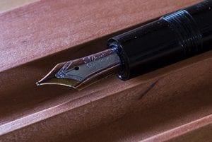 Montblanc Meisterstück 146 zwart penpunt