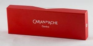 Caran d'Ache 849 Fluor Green box