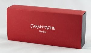 Caran d'Ache Ecridor Retro fountain pen box