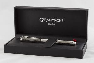 Caran d'Ache Ecridor Retro fountain pen box with pen