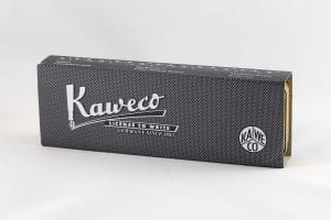 Kaweco Special Massive Brass box